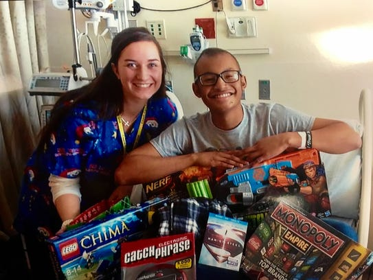 Jeffrey Brown gets board games a Lego set and Nerf