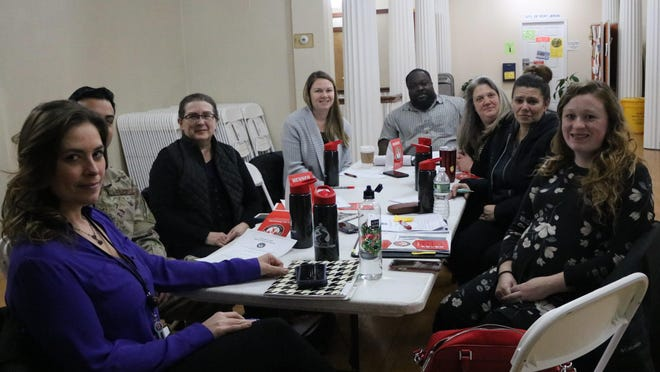 A full Operation PJ Pride coalition meeting drew eight people to the Port Jervis Recreation Center last week. Most were  representatives of social service agencies.