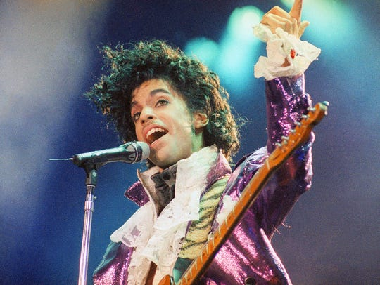 Prince in February 1985.