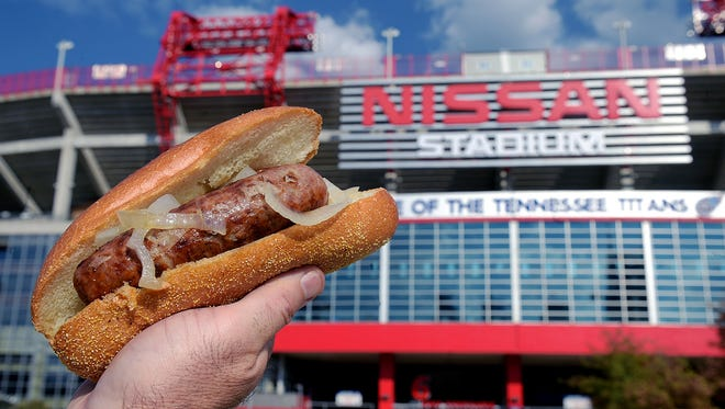 Behold the humble but lovable bratwurst, the world's best tailgate food.