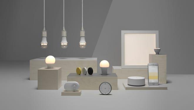Ikea's TRÅDFRI smart lighting system.