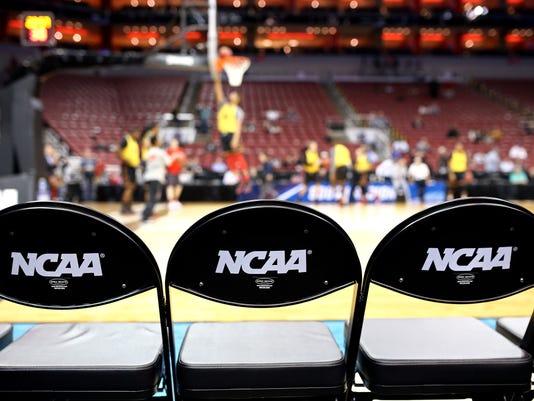NCAA Basketball: NCAA Tournament-South Regional Practice
