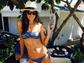 Alessandra Ambrosio celebrates Memorial Day in this adorable print bikini.