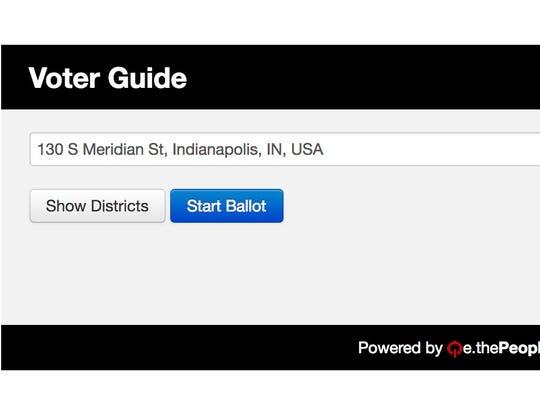 Start your ballot
