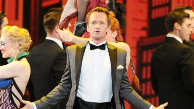 FILE - This June 9, 2013 file photo shows actor Neil Patrick Harris performing on stage at the 67th Annual Tony Awards in New York.