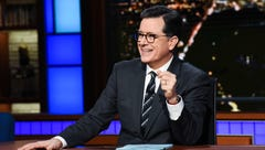 """Late Show"" host Stephen Colbert"