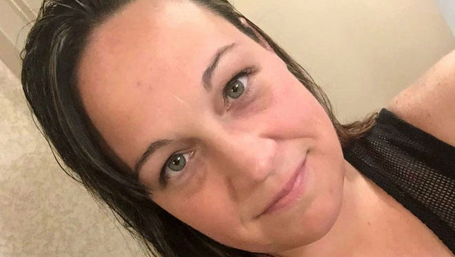 Jessica Klymchuk, one of the people killed in Las Vegas on, Oct. 1, 2017. Facebook via AP