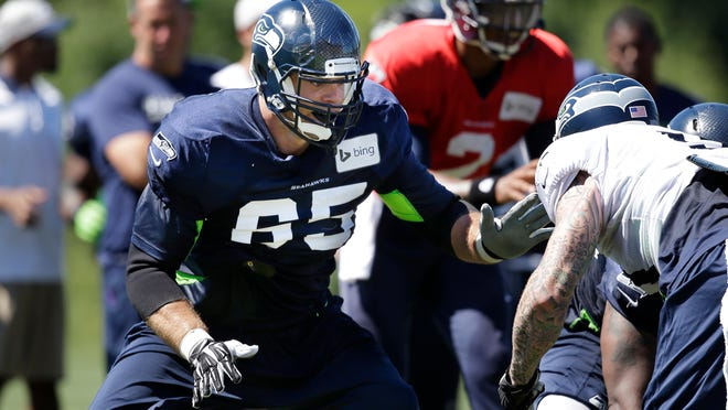 T Eric Winston has played for three NFL teams since 2011.