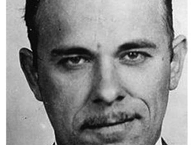 From 2009: John Dillinger - who frequented ECI - returns to spotlight