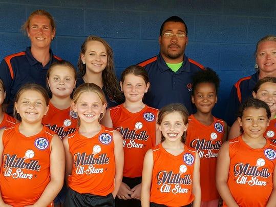 8U Millville Softball All-Stars