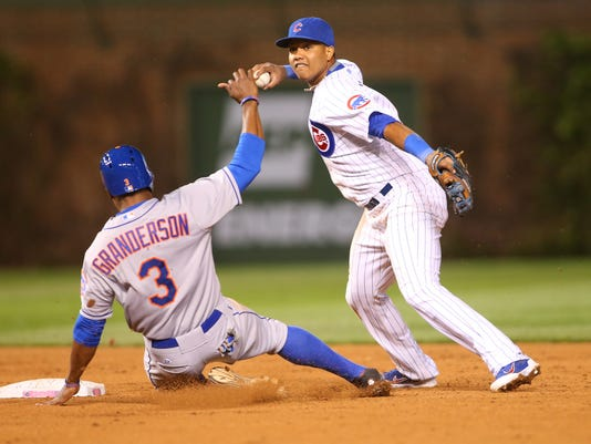 MLB: New York Mets at Chicago Cubs