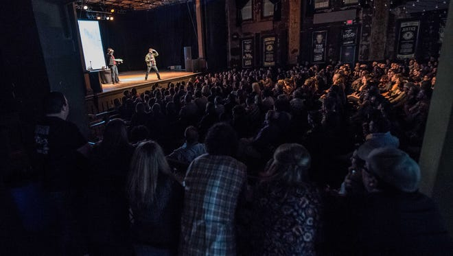 """Turner Hall Ballroom, here shown packed for a show featuring """"Manitowoc Minute"""" comic Charlie Berens, hasn't hosted a live concert since the coronavirus pandemic shut down music venues in March."""
