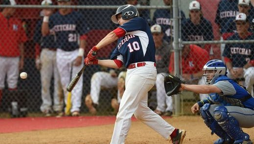 Action from Tuesday's game between Roy C. Ketcham High School and North Salem.