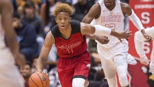 New Albany's Romeo Langford is fourth on the state's all-time scoring list.