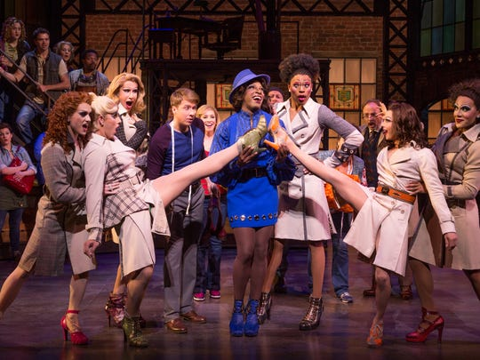 """A scene from """"Kinky Boots"""""""