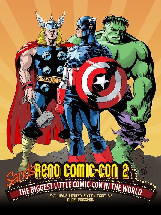 Sands Reno Comic-con
