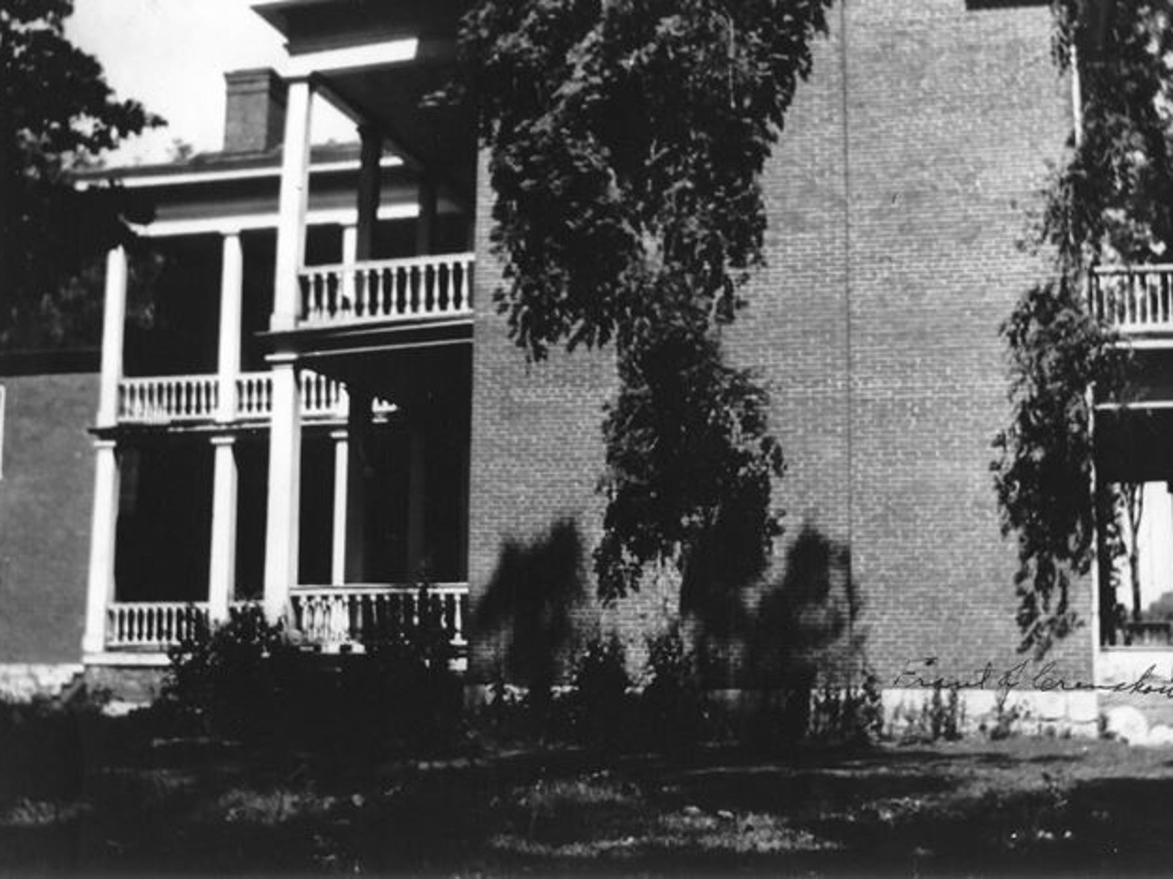 The dead baby was found at the vacant Crenshaw Mansion,