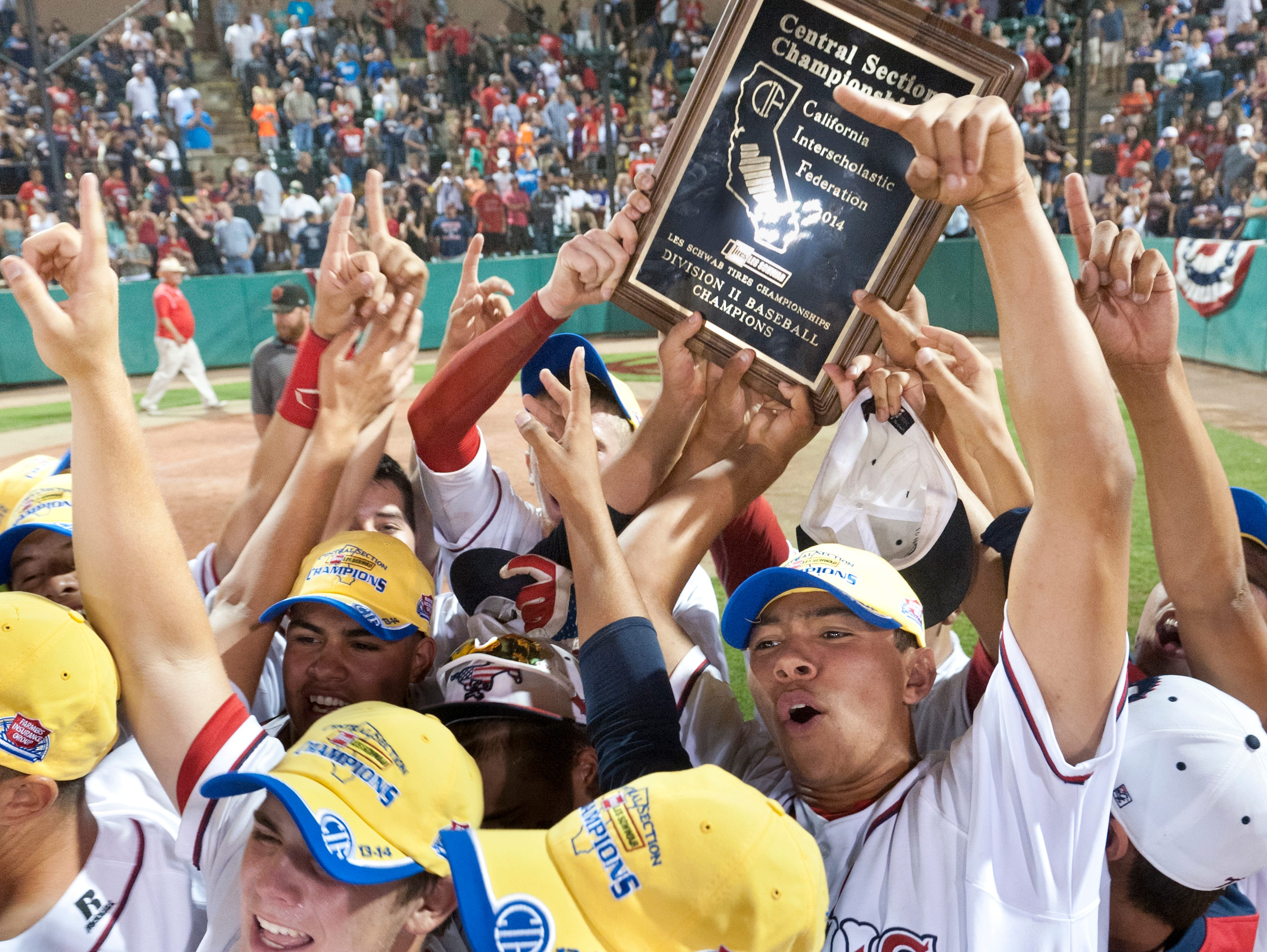 Tulare Western, the 2014 Central Section Division II champion, will be in Division I for the 2015 Central Section baseball playoffs.
