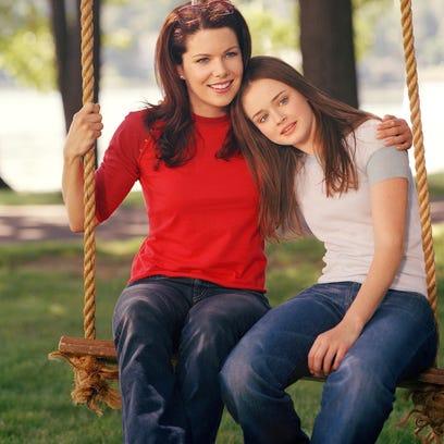 Lauren Graham, left, and Alexis Bledel will reprise their winning mother-daughter team in Netflix's 'Gilmore Girls' revival.