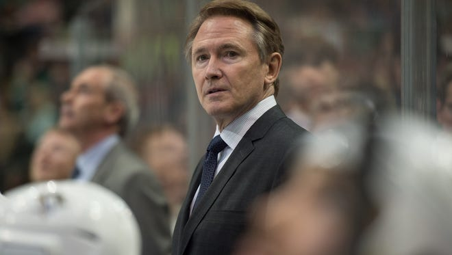 Pittsburgh Penguins coach Mike Johnston will be in Nova Scotia on Tuesday for his mother's funeral.