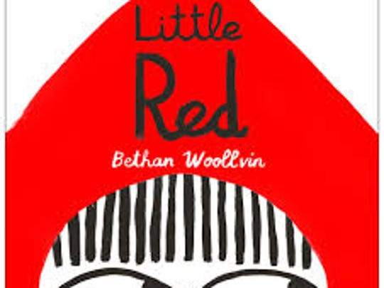 "The cover of ""Little Red"" by Bethan Woollvin"