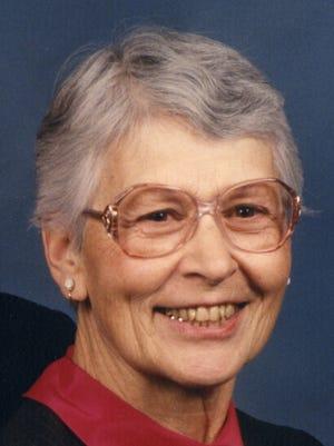 Ruth Higdon, 96