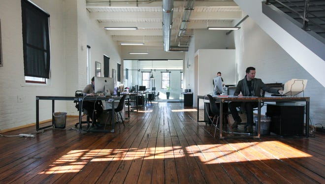 A look inside the Urban Sites' office space at 1209 Sycamore St.