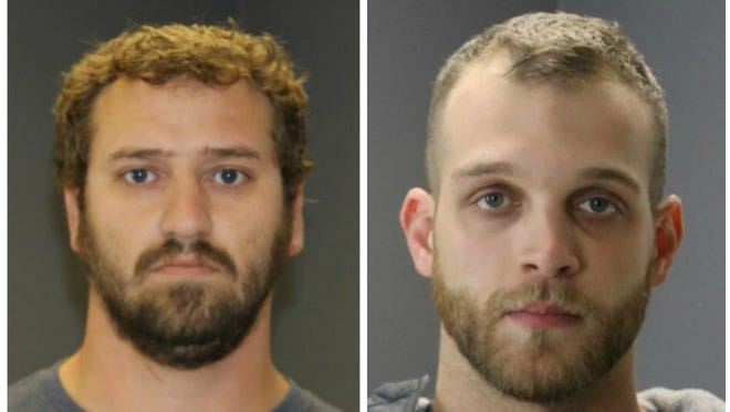 Both men are charged with third-degree criminal sexual conduct, a felony, and furnishing alcohol to a minor, a misdemeanor.