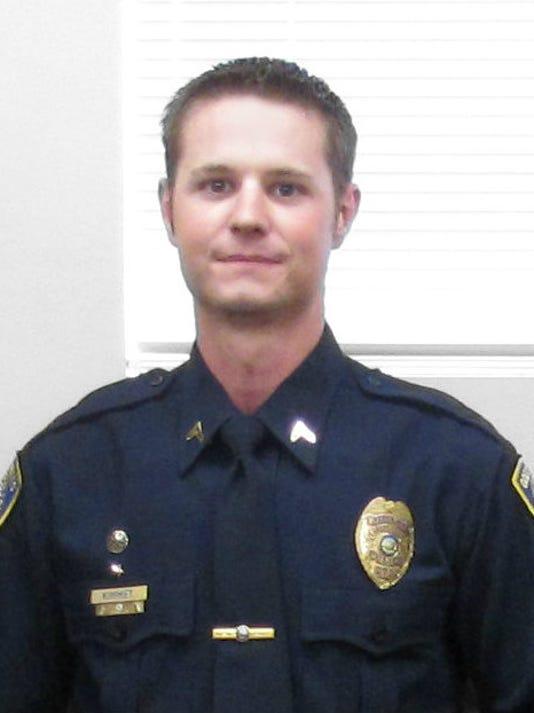 mug officer Tad Kimmett