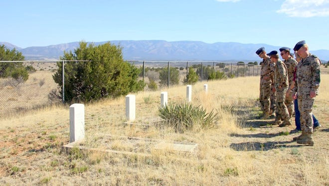 A groundbreaking ceremony is set for the the new state veterans' cemetery at the Fort Stanton Veterans Cemetery at 11 a.m. Nov. 11, Veterans Day.