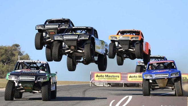 The SPEED Stadium SUPER Trucks series vehicles are capable of competing on a variety of surfaces.