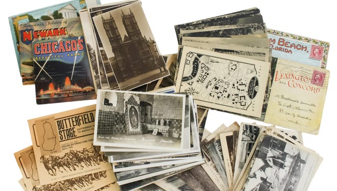 Old postcards, hunting licenses and car manuals may be worth selling on the secondary market.