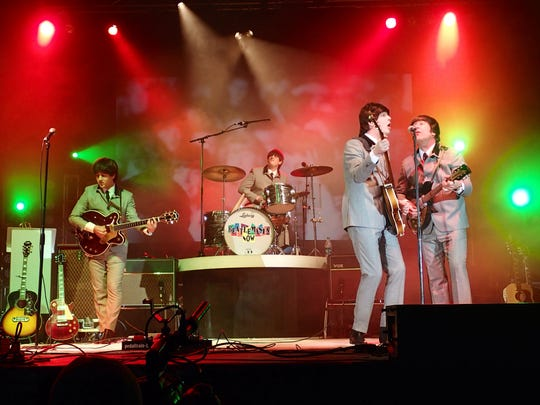 The Beatles tribute band Beatlemania Now will perform at the Strand-Capitol Performing Arts Center