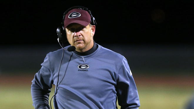 Eagleville football coach Steve Carson led his team to seven straight playoff appearances.