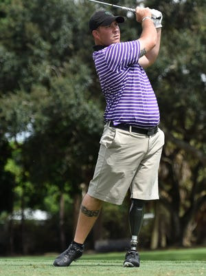 Army veteran Chad Pfiefer will be playing in the Albertsons Boise Open this week.