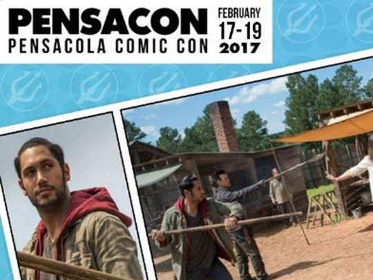Peter Zimmerman is Eduardo on The Walking Dead.  He will appear at Pensacon in Pensacola, Florida on Feb. 17-19. Zimmerman lived in Montgomery as a child, before moving to Atlanta at 16 to pursue an acting career.