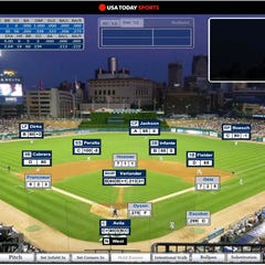 A Dynasty League Baseball Screenshot For A Game Played At