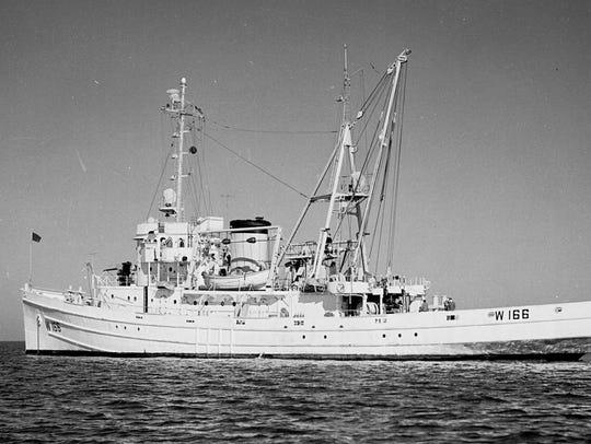USCGC TAMAROA pictured here in 1959.