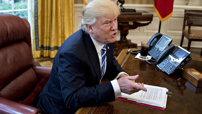 President Donald Trump has instructed us that Andrew Jackson was angry about the Civil War that began 16 years after Jackson's death..