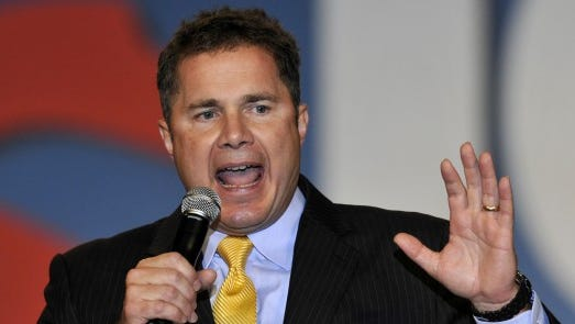 Democratic U.S. Senate candidate Bruce Braley