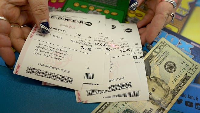 The Mega Millions and Powerball jackpots continue to grow — the two lotteries are currently valued at more than $2.2 billion.