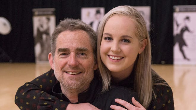 Tom Hoatlin and daughter Laney Hoatlin will dance at her wedding to Aaron Tytschkowski on Saturday, May 19. It's the real royal wedding.