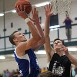 Iowa freshman Jack Nunge shows off a polished game in Prime Time League playoffs