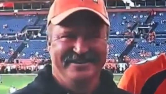 A photo taken from video shows Paul Kitterman.