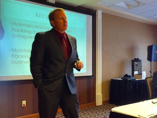 John Donovan, economic development specialist with