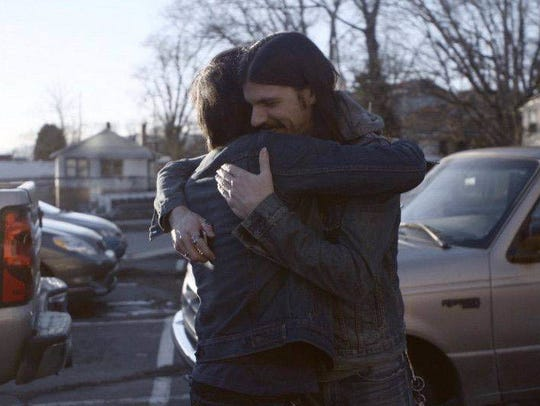 Scott and Seth Avett in a scene from HBO's 'May It Last: A Portrait of the Avett Brothers.'