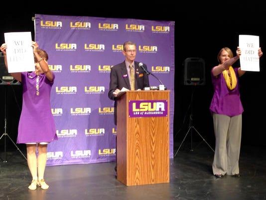 LSUA enrollment 1