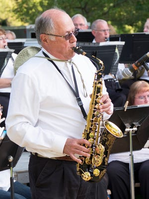 Saxophonist George Wolfe will be featured in an America's Hometown Band concert at 6:30 p.m. Thursday, Sept. 7, at Westside Park.