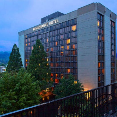 High downtown Asheville hotel room rates no deterrence to visitors
