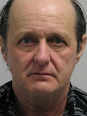 John Dicriscio, 59, of New Castle, was arrested after police say he was observed masturbating in a book store.